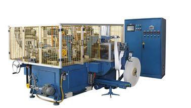 China Máquina do copo 150pcs/min de papel de SCM-H/maquinaria automáticas de alta velocidade horizontais da factura com selagem do ar quente distribuidor