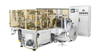China 150pcs/min máquina automática de alta velocidade horizontal branca/maquinaria do copo de papel/bacia distribuidor