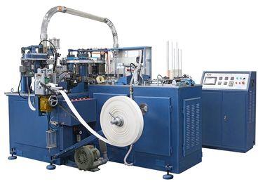 China Máquina do copo de papel de SCM-600 90pcs/min/maquinaria automáticas da factura com selagem do calefator/unidade ultra-sônica distribuidor